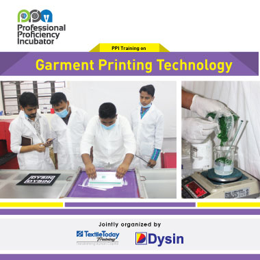 PPI Training on Garment Printing Technology